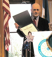 Feb 14, 2009. The Director of the History Museum, Dale Genius, received the Daughters of the American Revolution Excellence in Community Service Award