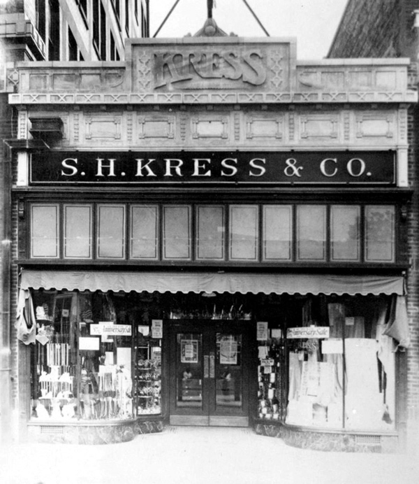 Kress mart five and dime